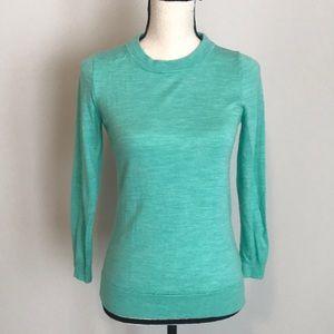 Mint jcrew sweater